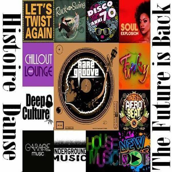 Histoire Dance storia della musica DotRadio programmi